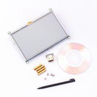Freeshipping 5 بوصة LCD H-D-MI شاشة تعمل باللمس عرض TFT 800 * 480 لوحة وحدة سائق GPIO ل التوت بي