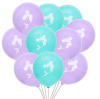 Denizkızı Lateks Balon 10 İnç doğum günü partisi Düğün Güzel Doğum Günü Partisi Süsleme Balonlar Düğün Süsleme Bayram SN4374 Malzemeleri