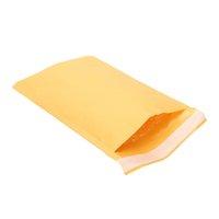Kraftpapierblase Umschläge Papiere Verpackung Taschen Gepolsterte Mailer Schiff Blasen Umschlag Kurier gelb Aufbewahrungstasche 10 Größe