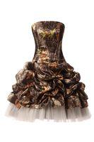 2019 nieuwe satijnen camo korte homecoming jurken kralen mini prom feestjurken 100% echte foto QC1342