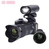 Professional Professional Protax Polo Caméra SLR D7300 16M Mega Pixels HD Numérique avec objectif interchangeable + boîte de vente exquise