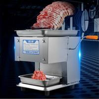 Gewerbliche elektrische Schneidemaschine Automatische Drahtschneider Desktop-Slicer 850W Fleischwolf Zerschneiden Maschine manuelle Küchenmaschine