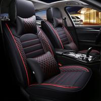 Универсальные автомобильные крышки сиденья Nissan Murano Livina X-Trail Qashqai Sylphy Teana Sunny Auto Внутренние аксессуары для интерьера полные 1Set