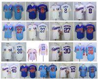 Vintage Montreal Expos Montreal Jerseys 8 Gary Carter 12 Tom Brady Andre Dawson 27 Vladimir Guerrero 30 Tim Raines 45 Martinez MN Baseball Jerseys