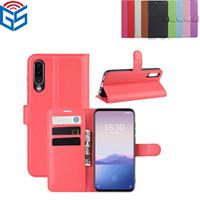 La migliore cassa di vibrazione del portafoglio di carta del portafoglio del telefono di vendita di vendita flip il caso per Meizu 16Xs MX5 che spedice liberamente