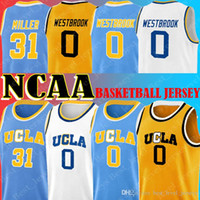 Ncaa Jersey UCLA 0 Russell Jersey Westbrook 31 Reggie Miller Trikots University of California james Tatum Walker verhärten Kemba Jason Carter