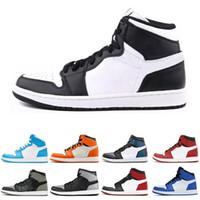 1c0bea6fc Nike air jordan 1 1s Zapatillas de baloncesto Real 1 1s para hombre  Fragmento New Love