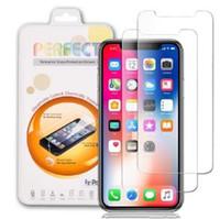 Cyberstore pour iPhone XR XS MAX XS X 6 7 8 Plus 2.5D 9H en verre trempé Film premium Protection d'écran pour Huawei Sony
