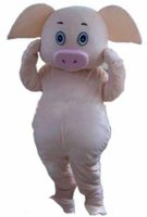2019 High quality hot Pig Mascot Costume Fancy Party Dress H...