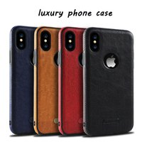 Luxury phone case for iPhone Xs Max XR X iphone case leather...