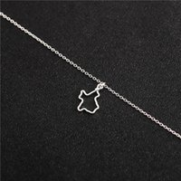 30 Hollow Outline Texas State Patriotic pendant Necklace USA American TX Status for Hometown Souvenir Lucky woman mother men's family gifts jewelry