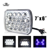7X6' ' H4 Led Headlight 1x Led Chip High Low Beam D...