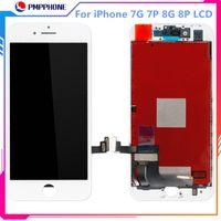 iPhone 7G 7Plus 8G 8 Artı Ekran Ekran Sayısallaştırıcı Meclisi Yedek DHL Nakliye için Tianma Yüksek Kalite LCD