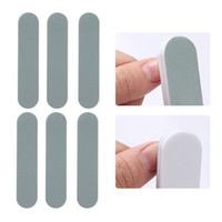 6 pz / set Mini Nail File Set Strumento Unghie Artistico Professionale Per Unghie Buffer Per Manicure Pedicure File Carta vetrata Lucidante per unghie