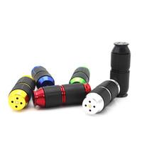 Dritte Vier-Generation Gas Cracker N2O Aluminium NOS Cracker Rauchen Whipper Mini Abroller Whipped Opener 6 AC103 Farben