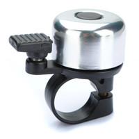 Металлическое кольцо Handlebar Bell Sound Alarm для велосипеда велосипед - черный
