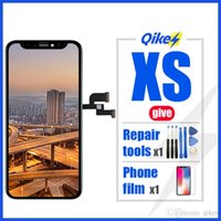 iPhone X XR XS Dokunmatik Ekran Yok Ölü Pixel için Sayısallaştırıcı Değiştirme Montaj Parçaları Siyah OLEDTFT ile One Retai iPhone X'ler LCD Ekran