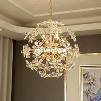 Lampada a sospensione Nordic luci moderne di cristallo ciondolo pendente illuminazione nordico per sala da pranzo dell'hotel lustro pendente Hanging casa Pendnat Lamp