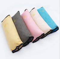 Bebek Emniyet Emniyet Kemeri Koşum Omuz Pedi Kapak Çocuk Koruma Kapakları Yastık Araba Oto Destek Yastık Koltuk Yastık Araba Dekorasyon D98