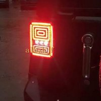 Julio, el rey LED traseras Running Lights, luz de freno + Señales de giro + luces de marcha atrás, la caja conjunto de luces traseras LED para Jeep Wrangler 2007-2014