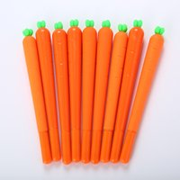 Carrot Water- Based Pen Novelty Cute Carrots Ballpoint Writin...
