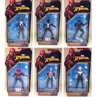 Action Figure Film Spider Man Toy Returning Heroes Gwen Stacy Spider Vrouw Spider Man Cartone animato Speelgoed Action Figure Model Doll Gift