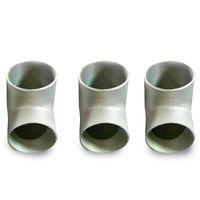 티타늄 dn 200 동등한 티의 제일 가격 ASTM B363 티타늄 배관 미국 표준 30도 티타늄 관 이음쇠 옆쪽 스윕 티