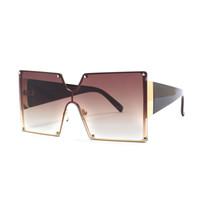 Platz Siamese Mode Sonnenbrillen Unisex Persönlichkeit UV400 Objektiv Platz Siamese Mode Sonnenbrillen heißen Männer Brillen Online