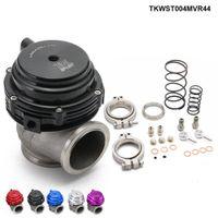Tansky-MVR 44mm v Band Externe Wastegate Kit 24psi Turbo Wastegate mit V-Bandflansch Hohe Qualität TKWST004MVR44