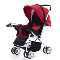High landscape stroller foldable absorber stroller baby car ...