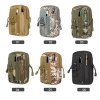 6 colors 550D Oxford Tactical Waist Bags Outdoor Multi- funct...