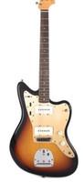 أعلى بيع 1959 Jazzmaster الصانع الماهر باهتة 3-لهجة أمة الله الغيتار الكهربائي على نطاق واسع Lollar بيك اب، ألدر الجسم، العنبر تبديل كاب، خمر المستقبلون
