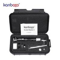 2020 atacado kit Kanboro eCube cigaretese electrónico caneta cera vaporizador kanborotech DAB sonda V3 510 prego