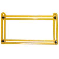 strumento per la lavorazione del legno a nastro per righello professionale Set di strumenti per la misurazione a quattro lati strumento per la misurazione dell'angolo del goniometro a più angoli