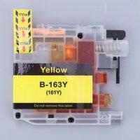 DCP-J552DW DCP-J752DW vb Yazıcılar, B-163Y / 161Y Serisi Sarı için Mürekkep Kartuşu