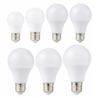 E27 LED Lumière 85-265V Ampoule LED 3W 6W 9W 12W 15W 18W 20W Lampada LED Ampoules Table Spotlight Froid / Warm White