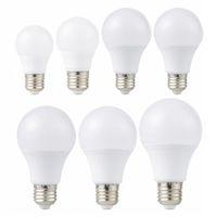 E27 LED 빛 85-265V LED 전구 3W 6W 9W 12W 15W 18W 20W Lampada LED 전구 테이블 스포트 라이트 냉 / 따뜻한 화이트
