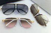 الفاخرة الجديدة مصمم النظارات الشمسية شعبية مزيج لوحة 40026 تجريبية مع إطار معدني النمط الشعبي جودة أعلى للأشعة فوق البنفسجية 400 النظارات الشمسية حماية