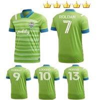 2021 Seattle Sounders FC Soccer Jerseys 20 21 Ruidiaz Morris Dempsey Torres Uniformen Kits Football Herren + Kinderhemd
