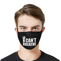 US Stock I Cant Breathe Maschere Maschere lavabili Maschere Estate Out Door Sport equitazione stilista maschera per adulti DHL FY9079