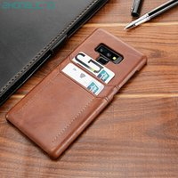 Card Holder Case for Samsung Galaxy Note 9 10 8 S10 S9 S8 Pl...