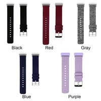 wholesale New 10pcs set charge 3 wristband nylon canvas stra...