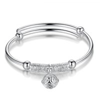 حار بيع جديد فضية اللون 925 الفضة الاسترليني سوار المفتوحة جمال المرأة والفضة والمجوهرات السنة الجديدة هدية سوار سوار الشحن مجانا 1 اثنتي عشرة