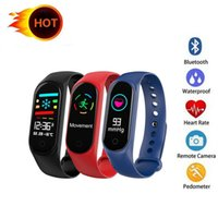 Smart Bracelet for Fitness Tracker M3S Smartband with Heart ...