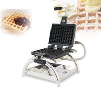 Gıda İşleme Ticari Elektrikli Döner Ballı Waffle Koni Makinesi Taiyaki Makinesi