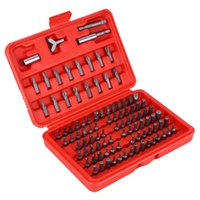 100pcs Screwdriver Bit Sets Security Bit Set Chrome Vanadium...