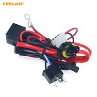 Feeldo Auto Motorrad Kit 12V 35W H4 HID Hi / Lo Xenon Kabelbaum Relais HID Kabelbaum Kit # 4566