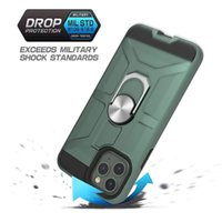 Armor Case For iPhone 6 7 8 with 360 maganetic Kickstand cas...
