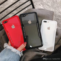 Luxury Anti- scratch Transparent Back Cases For iPhone 8 7 Pl...