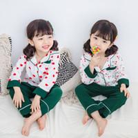 2019 последний хлопок девушки домашняя одежда пижамы вишневые костюмы детская милая ночная рубашка пижамы девушка прекрасная одежда ночное платье